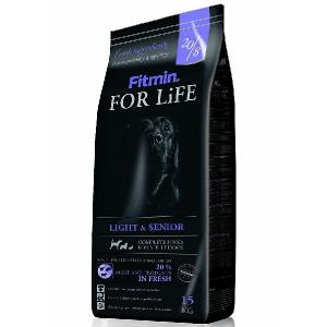 FITMIN DOG FOR LIFE LIGHT / SENIOR 15KG